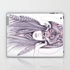 Red Wolf Laptop & iPad Skin