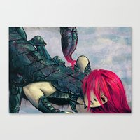 Zodiac Sign: Scorpio Canvas Print