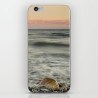 The red rock and the ship iPhone & iPod Skin