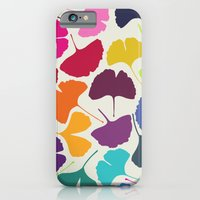 iPhone & iPod Case featuring Ginkgo Multicolor by Garima Dhawan