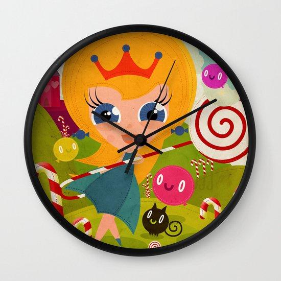 Caramel Princess Wall Clock