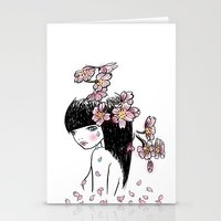 Sakura Tears Stationery Cards