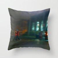 Follow Me Home Throw Pillow
