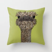 Hello Person Throw Pillow