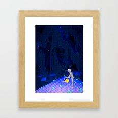 01101100011010010110011001100101 Framed Art Print