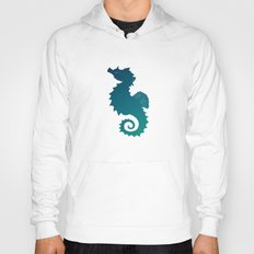 Seahorse of a Different Color ~ Marine Life Hoody