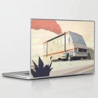 breaking bad Laptop & iPad Skins featuring Breaking Bad by Fabiano Souza