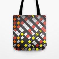 Breakout Pattern Tote Bag