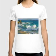Fiji Womens Fitted Tee White SMALL