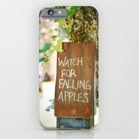 Falling Apples iPhone 6 Slim Case