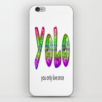 YoLo iPhone & iPod Skin