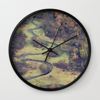 From Above Wall Clock