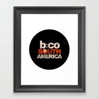 BCSA Logo Framed Art Print