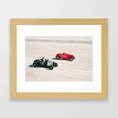 The Race of Gentlemen 7 Framed Art Print
