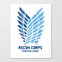 Recon Corps Scouting Leg… Canvas Print
