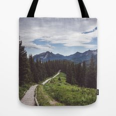 Greetings from the trail Tote Bag