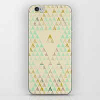 Triangle Lake iPhone & iPod Skin