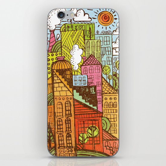BUILD UP  iPhone & iPod Skin