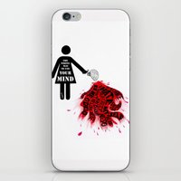 The Wrong Way To Use You… iPhone & iPod Skin