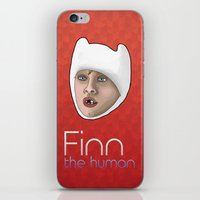 Finn the human iPhone & iPod Skin
