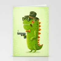 Dino Bandito Stationery Cards