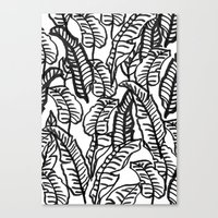 Banana Jungle Canvas Print