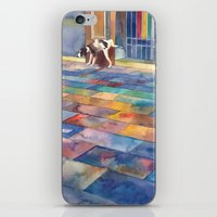 Dog And The City iPhone & iPod Skin