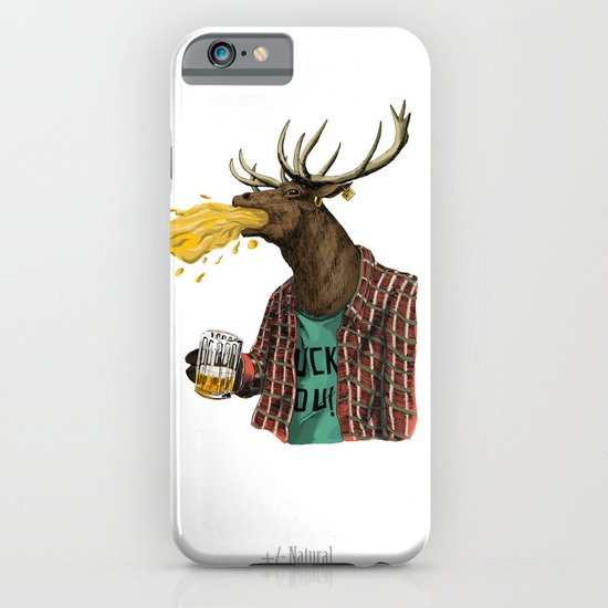 natural series- oh my deer iPhone & iPod Case