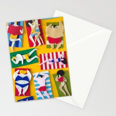 Public Beach Stationery Cards