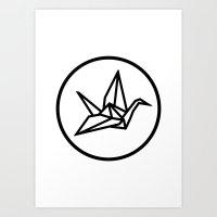 YO ZEN Logo Art Print