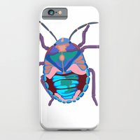 iPhone & iPod Case featuring A Beautiful Beetle by Stephanie Jett