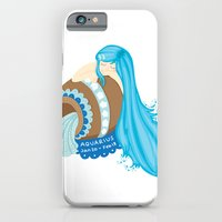 Aquarius Girl iPhone 6 Slim Case