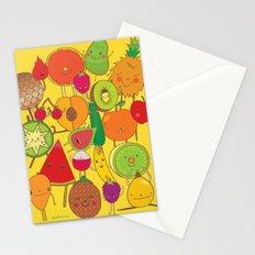 Veggies Fruits Stationery Cards