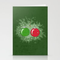 Shiny Balls Stationery Cards