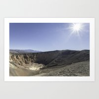 Ubehebe Crater Art Print
