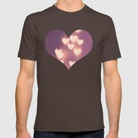 Your Love Is Electrifyin… Mens Fitted Tee Brown SMALL
