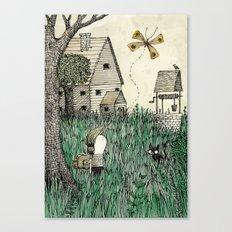 'Overgrown' Canvas Print