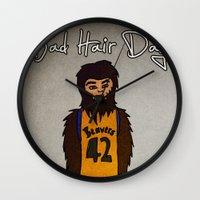 bad hair day no:2 / Teen Wolf Wall Clock