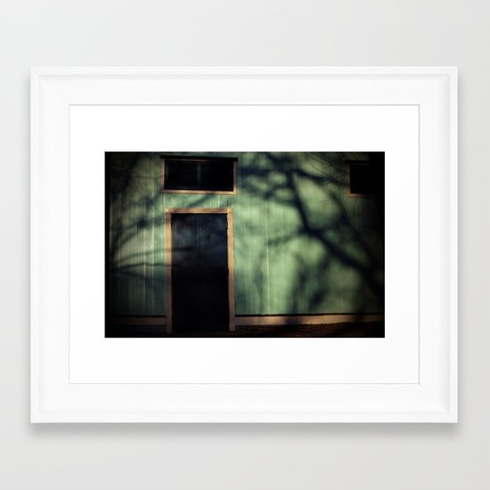 Scary World Theory Framed Art Print
