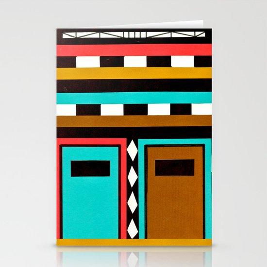 Tribe Mask Stationery Card