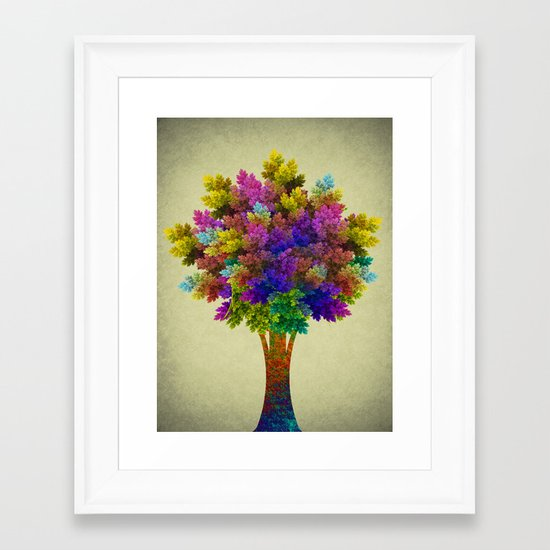Miracle Tree Framed Art Print