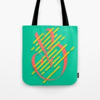 Tropical B Tote Bag