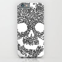Panda Is Cool/skull iPhone 6 Slim Case