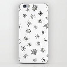 Snowflakes iPhone & iPod Skin