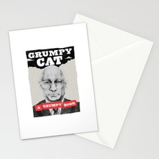 GRUMPY AS THE CAT  Stationery Cards