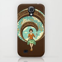 Galaxy S4 Cases featuring Welcome to My World by Enkel Dika