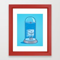 The Great Escape Artist Framed Art Print
