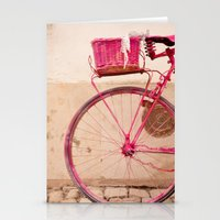 Lady in Pink Stationery Cards