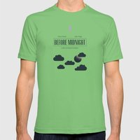Before Midnight Mens Fitted Tee Grass SMALL