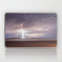Lightning Strike, Black … Laptop & iPad Skin